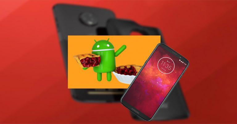 Moto Z3 Android Pie