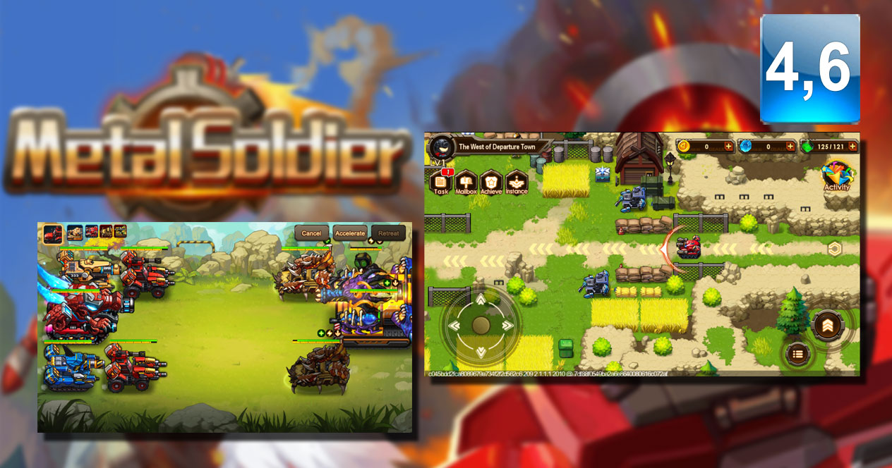 Juego Android Metal Soldier