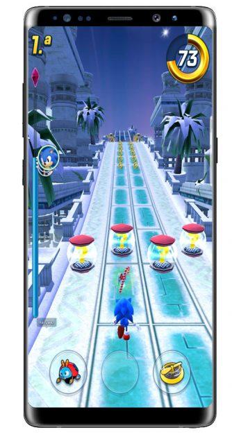 Esquivar en Sonic Forces