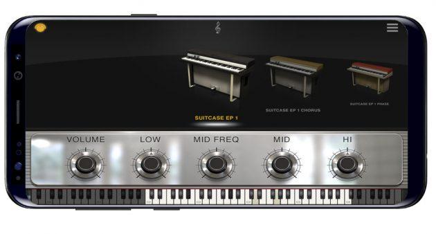 Modelos de piano en iLectric Piano