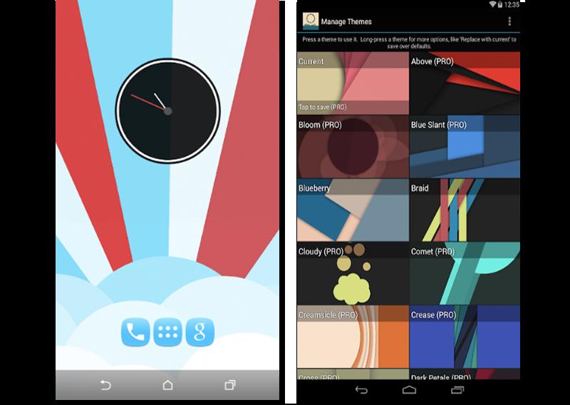 Capturas de pantalla de Minima Live Wallpaper