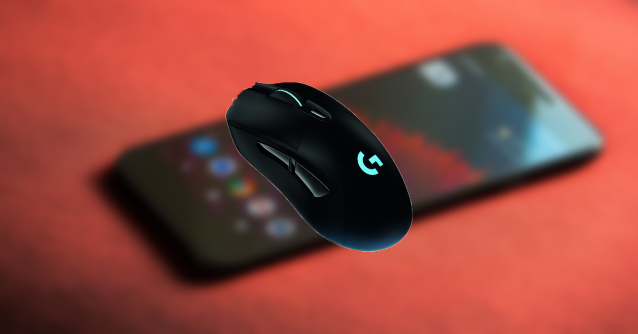 teclado raton android