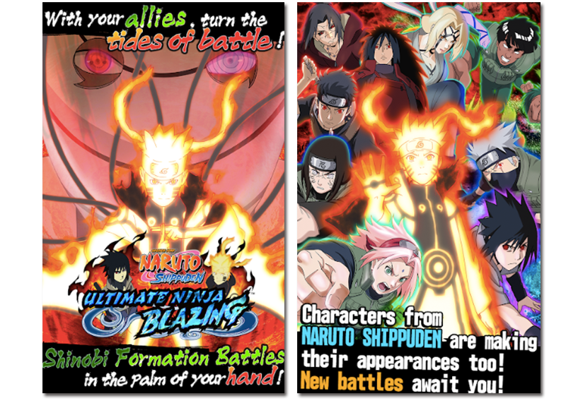 Imágenes oficiales del Ultimate Ninja Blazing