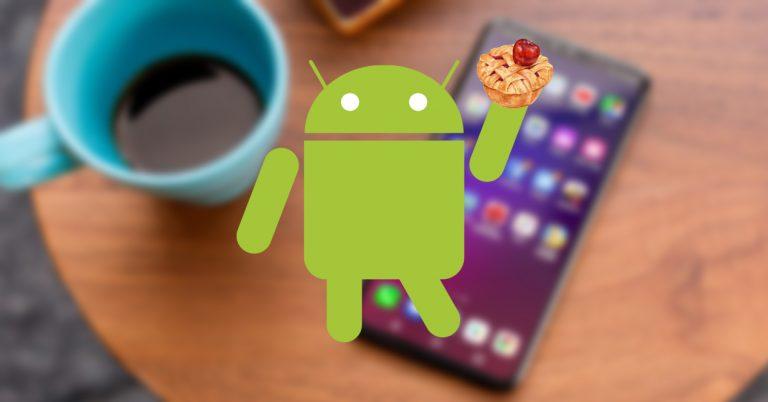 LG V40 ThinQ Android Pie