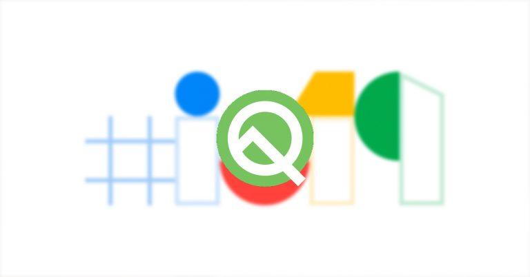Android Q Google IO