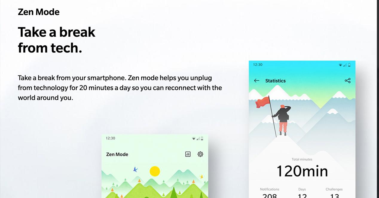 OnePlus modo Zen