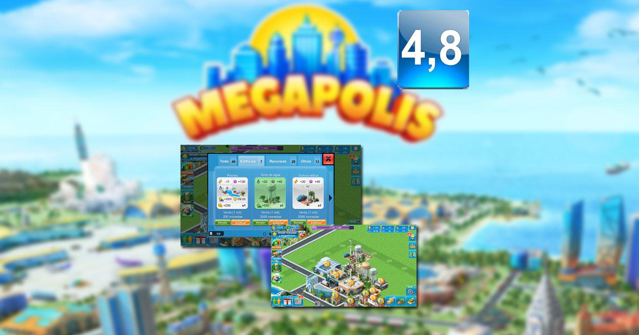 Aplicación Megapolis