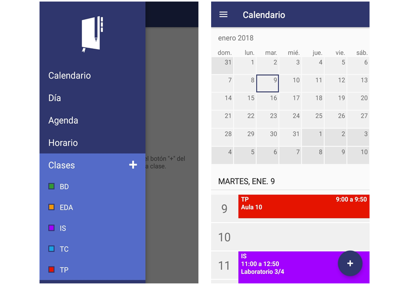 Power Planner Calendario