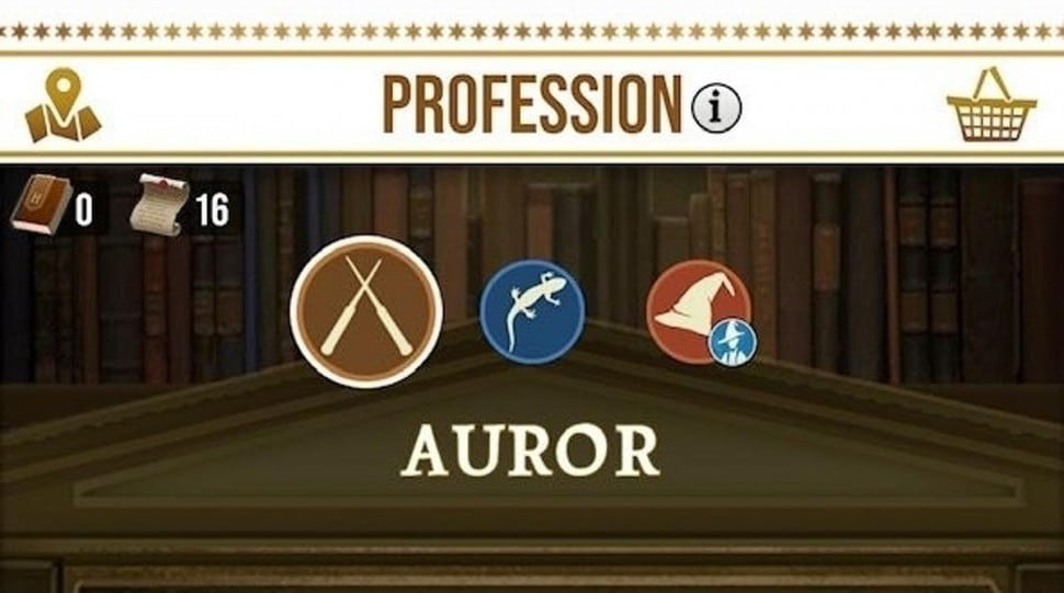 profesiones harry potter wizard unite
