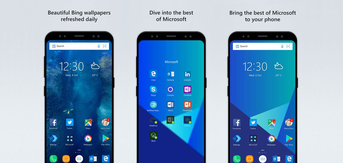 launchers android microsoft launcher
