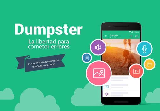 recuperar archivos android dumpster