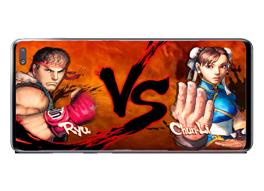 Inicio combate en Street Fighter IV Champion Edition
