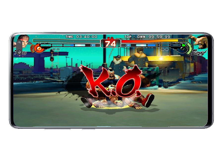 KO en Street Fighter IV Champion Edition