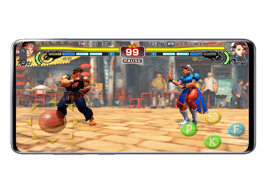 Combate en Street Fighter IV Champion Edition
