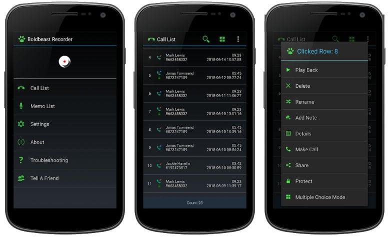 app call recorder grabar llamadas
