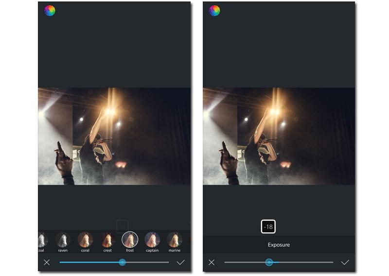 apps para editar fotos android afterlight