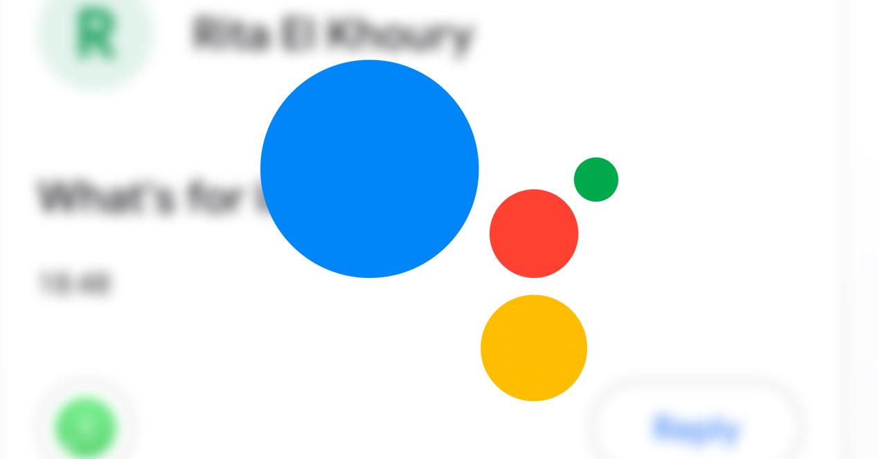 Enviar mensajes Google Assistant