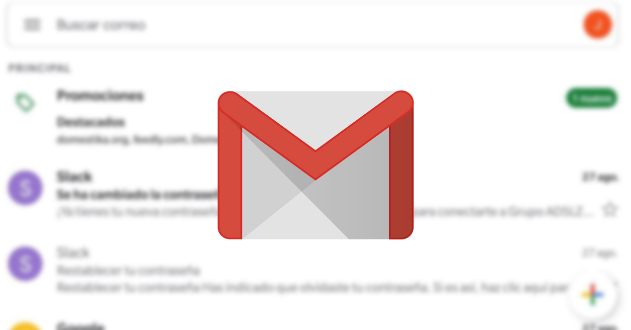 Gmail cambiar cuenta