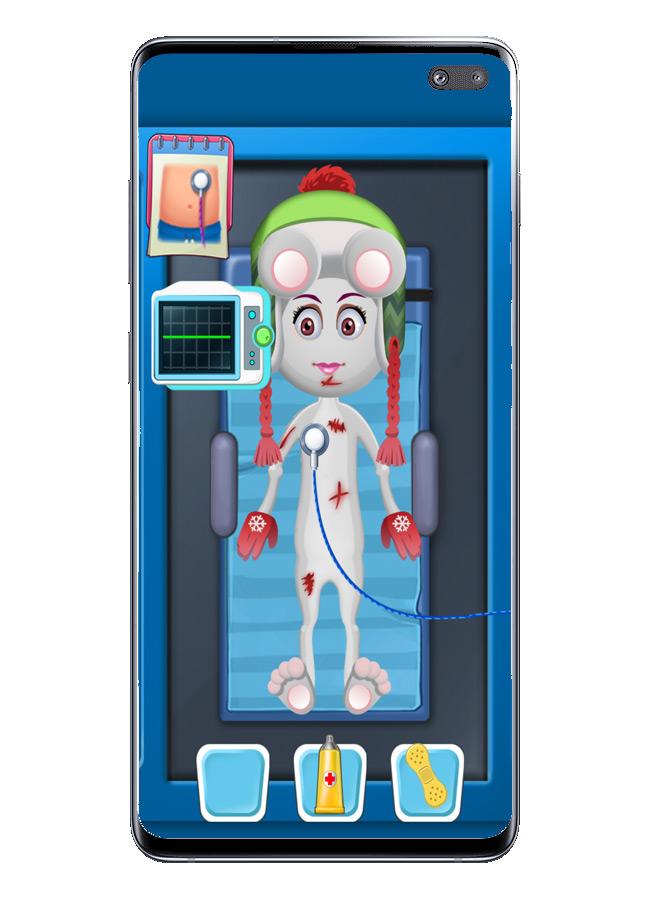Escaneo en Doctor Hospital Stories
