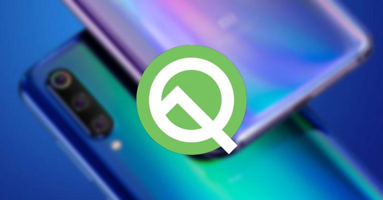 Xiaomi Mi 9 Android Q Beta