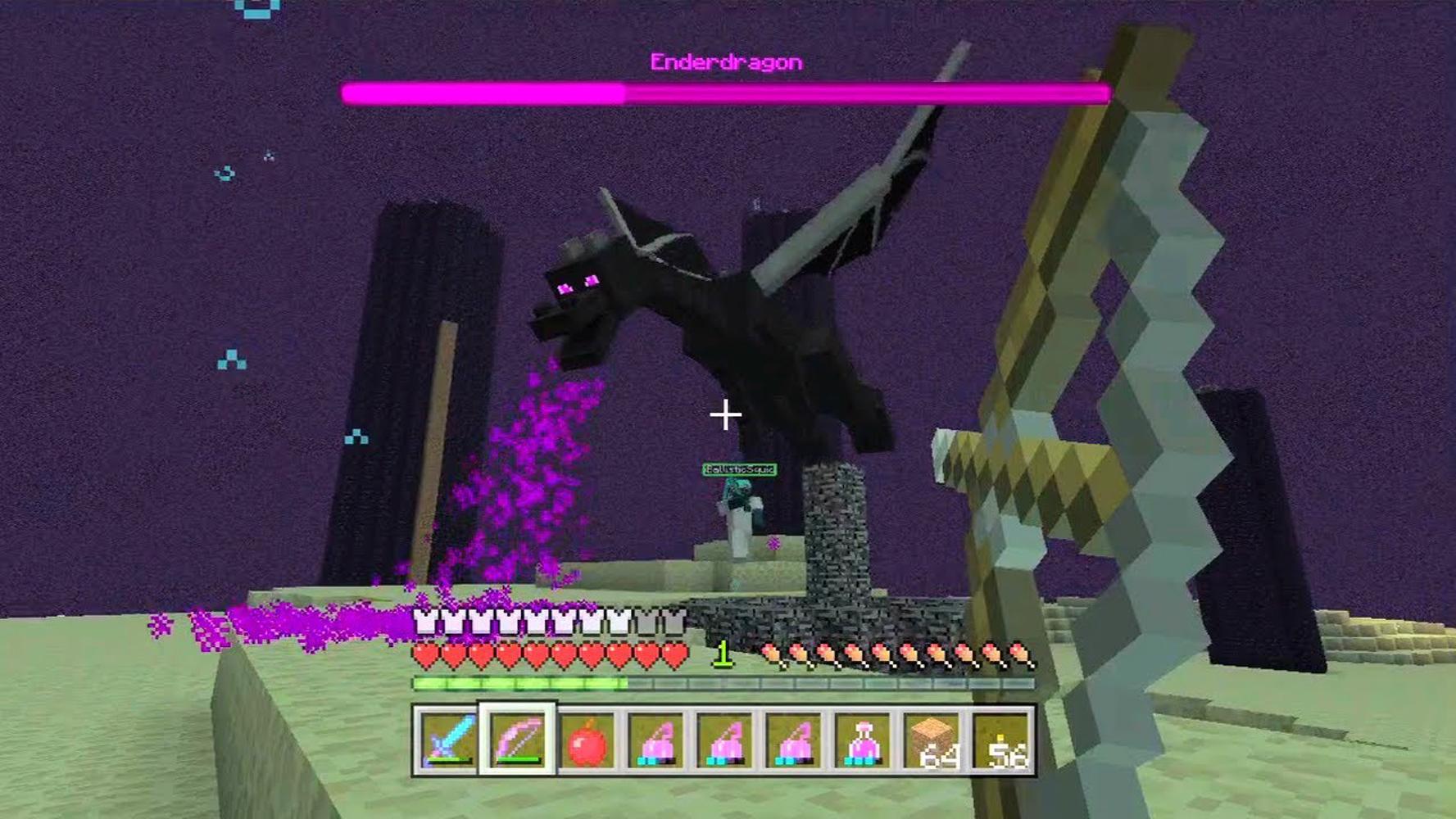 Minecraft enderdragon