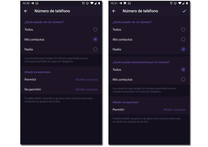 Telegram v5.11 Seguridad