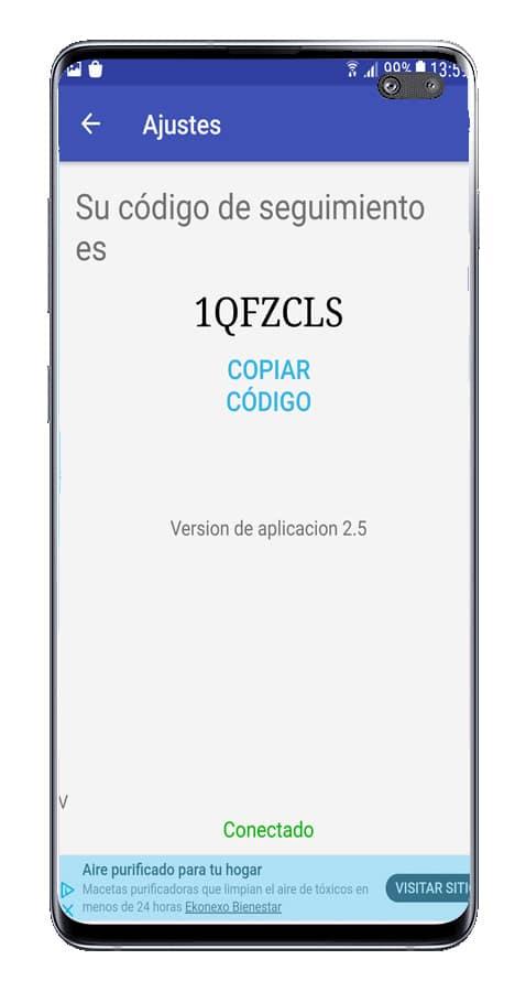 Códigos para comaprtir con Live GPS Cell Phones