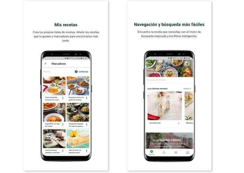apps cocina Cookido