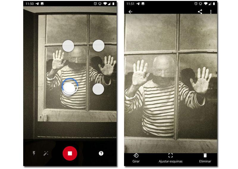 digitalizar fotos android