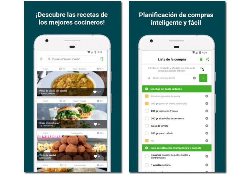 apps cocina recetix