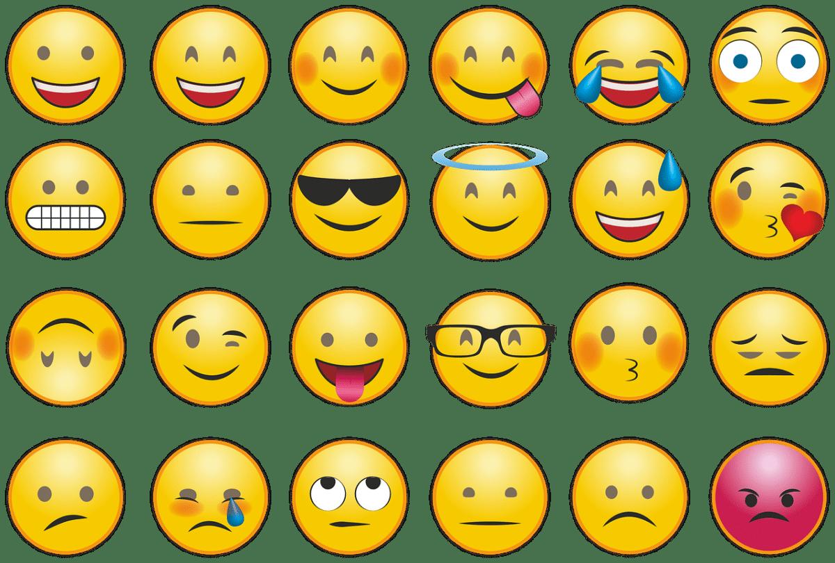 Puedes usar emojis para expresar emociones