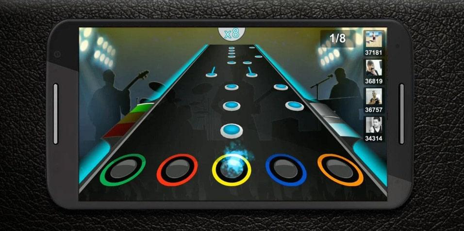 guitar flash juegos musicales