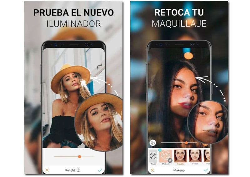 apps para editar selfie airbrush