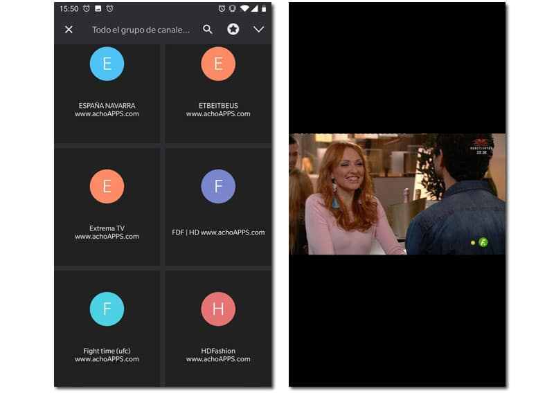 ver iptv android
