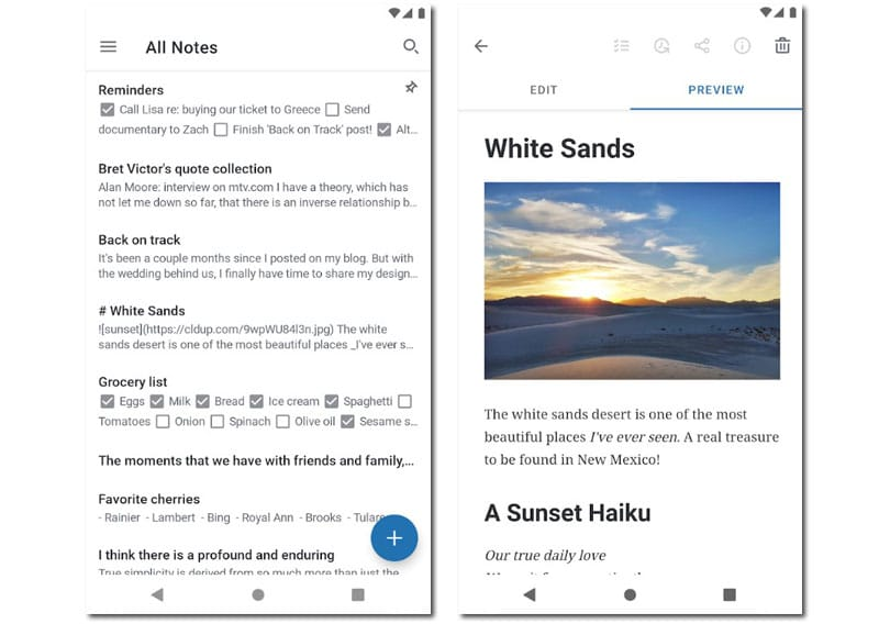 apps notas simplenote