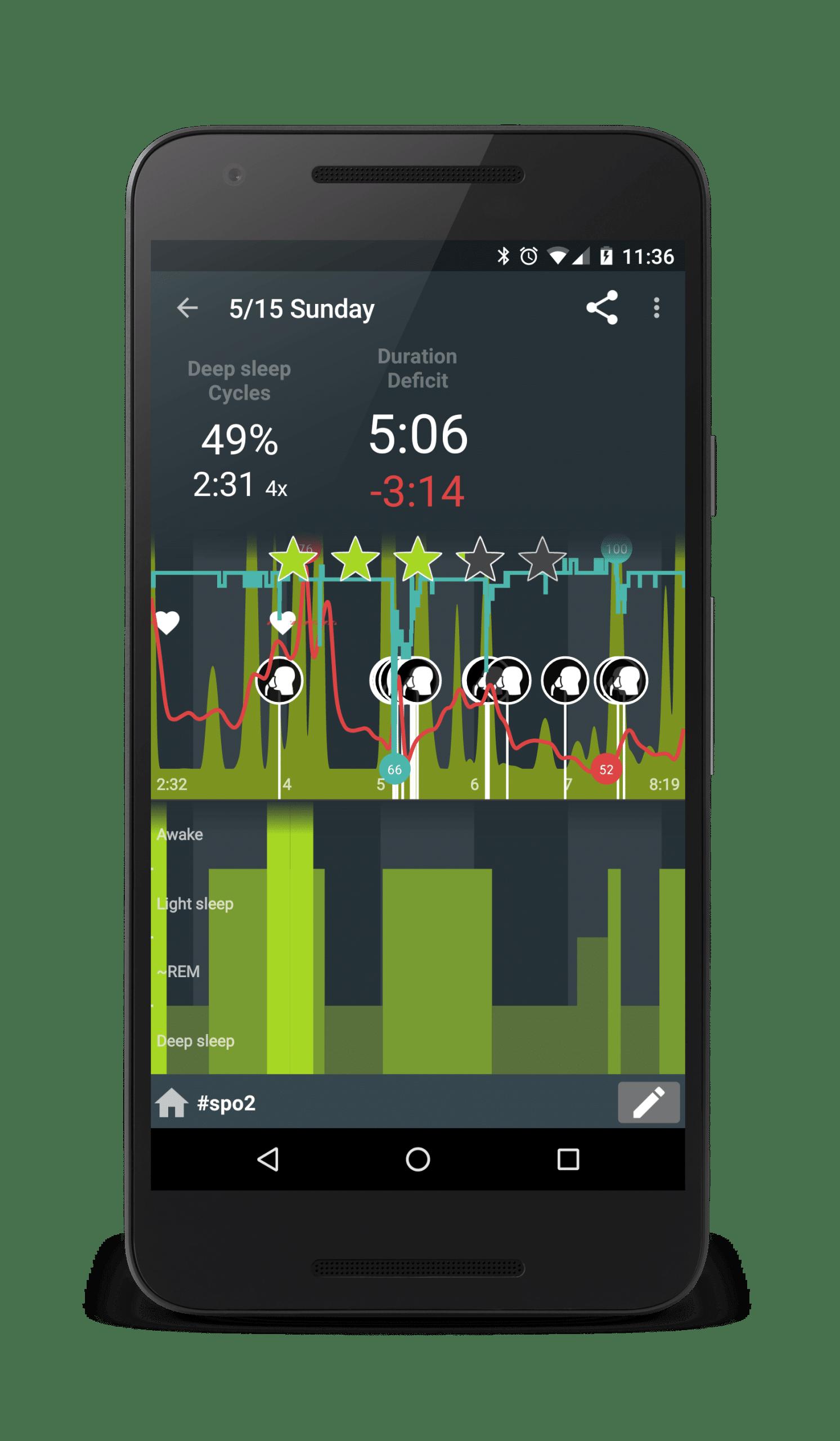 Sleep as android apps para dormir