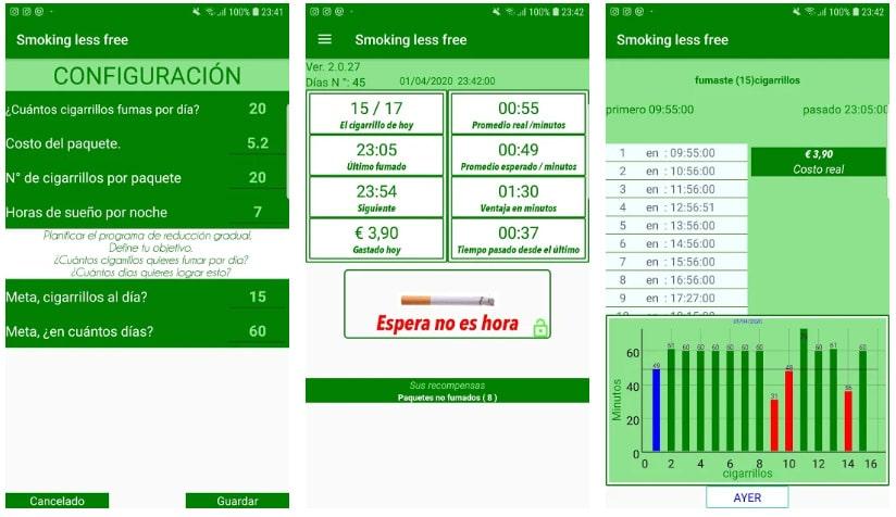 smoking less
