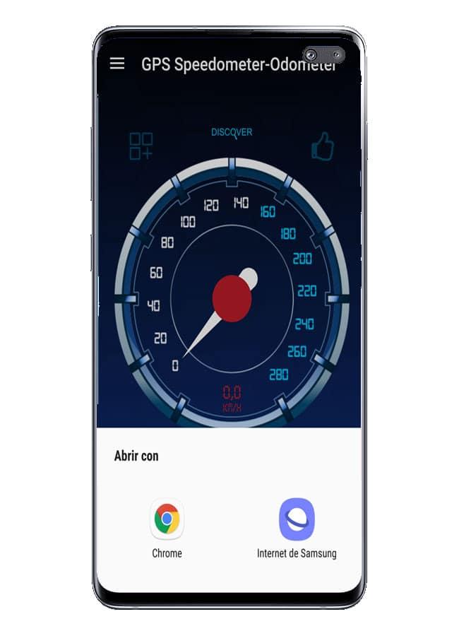 Abrir aplicaciones Odometer - GPS Speedometer