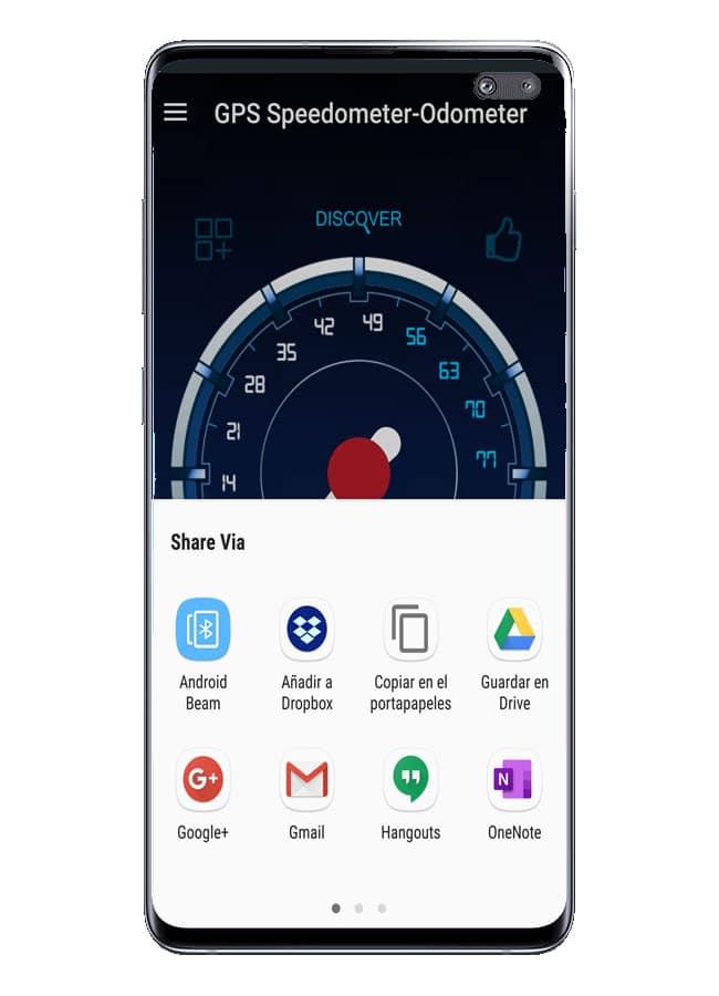 Compartir con Odometer - GPS Speedometer