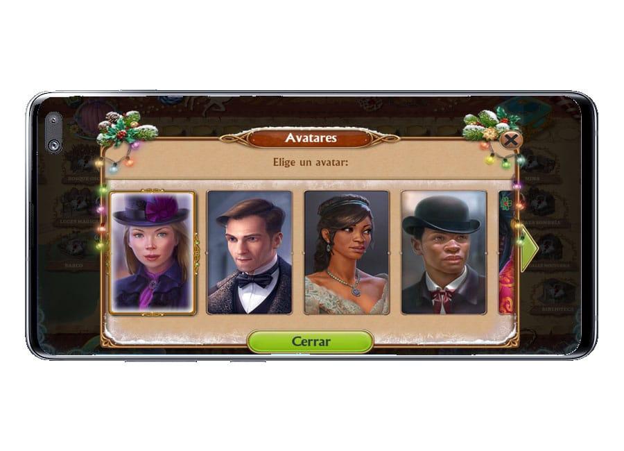 Avatar en el juego Seekers Notes: Misterio Oculto