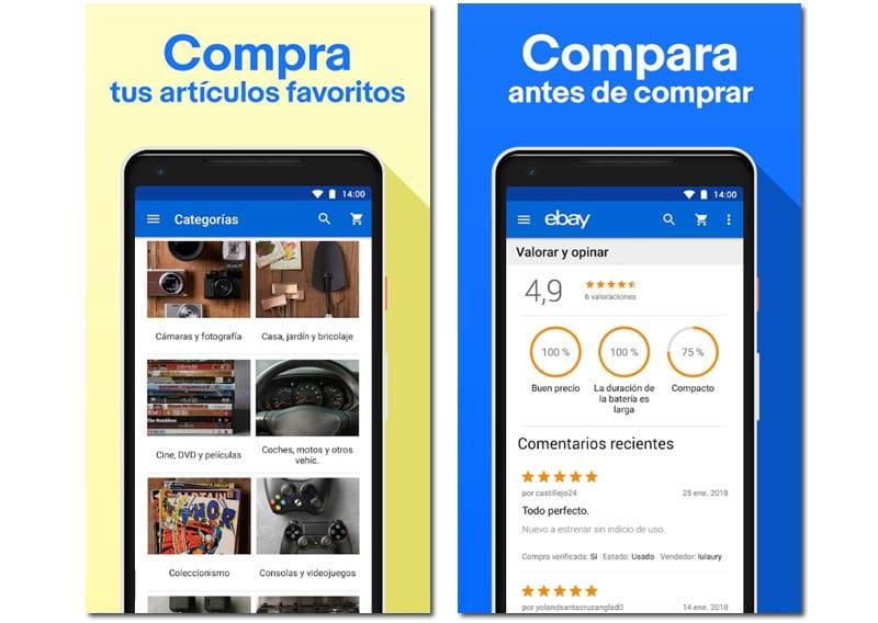 ebay apps para comprar regalos