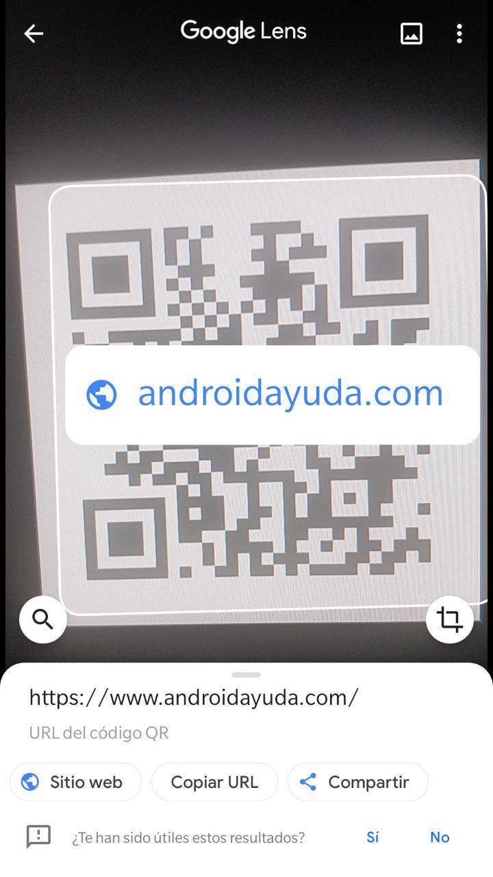 Escanear código QR Android