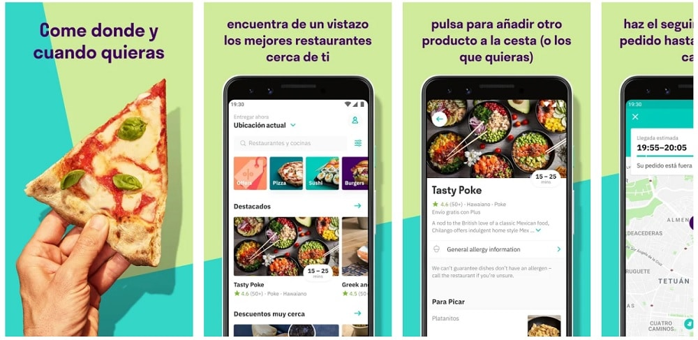 deliveroo apps útiles restaurante