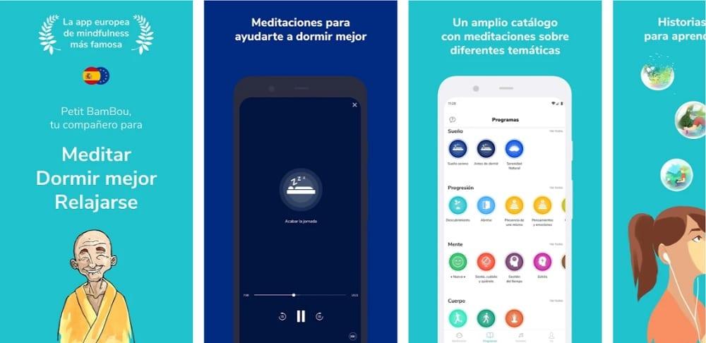 petit bambou apps para aprender a meditar