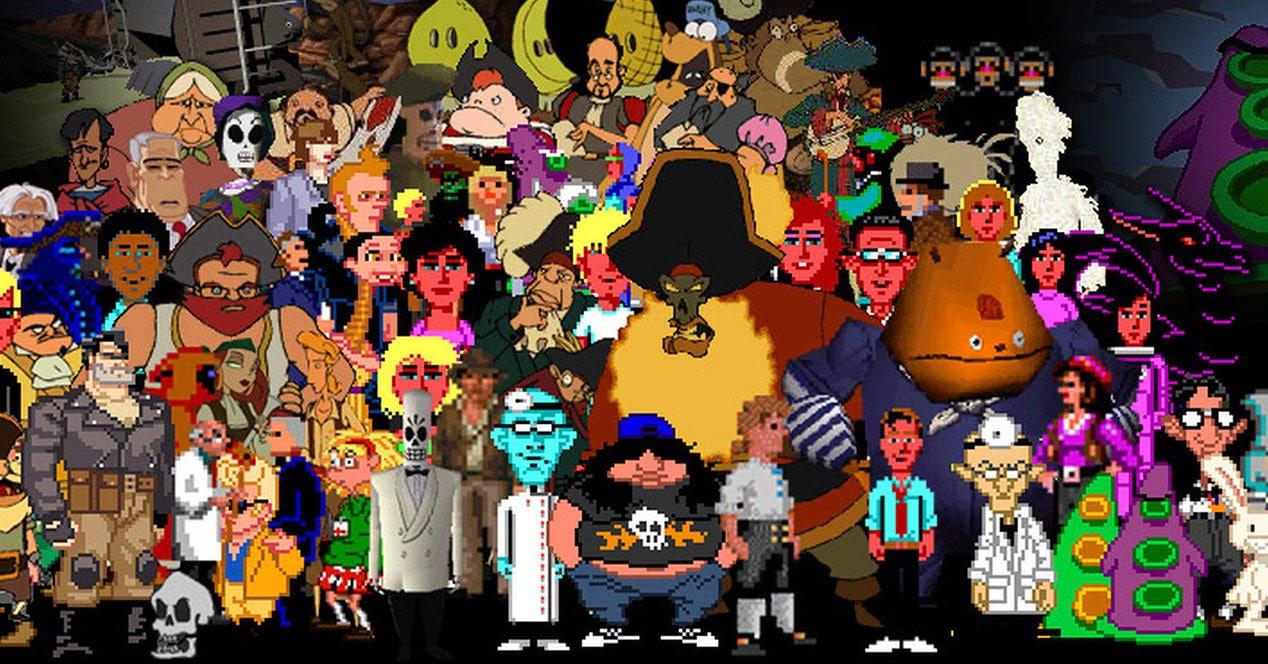 personajes aventuras gráficas