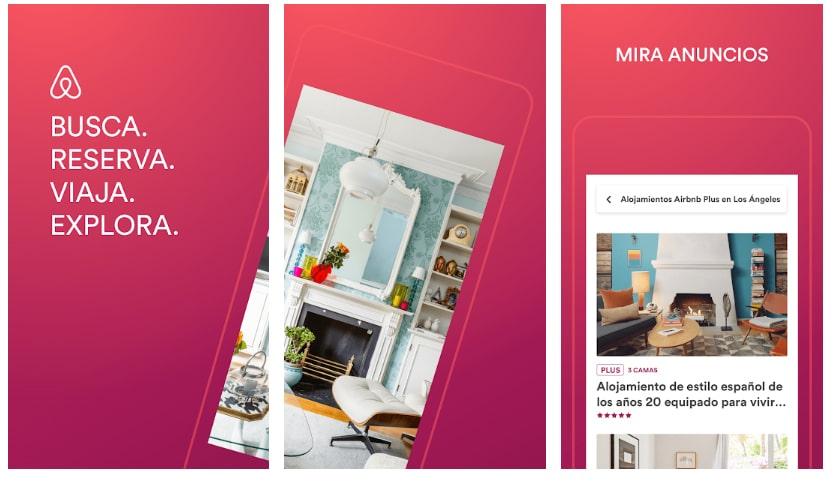 airbnb apps útiles viajar