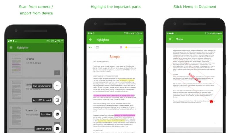 highlighter aplicaciones para subrayar pdf