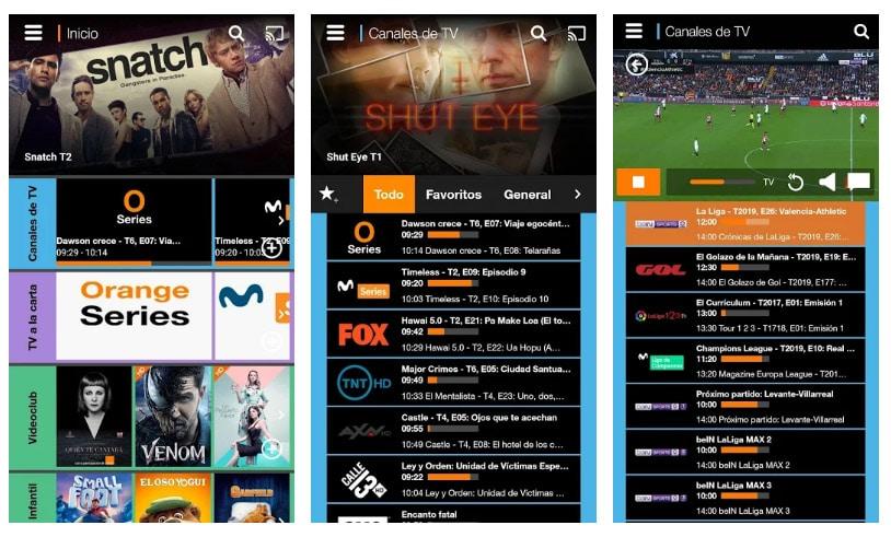 orange tv fútbol