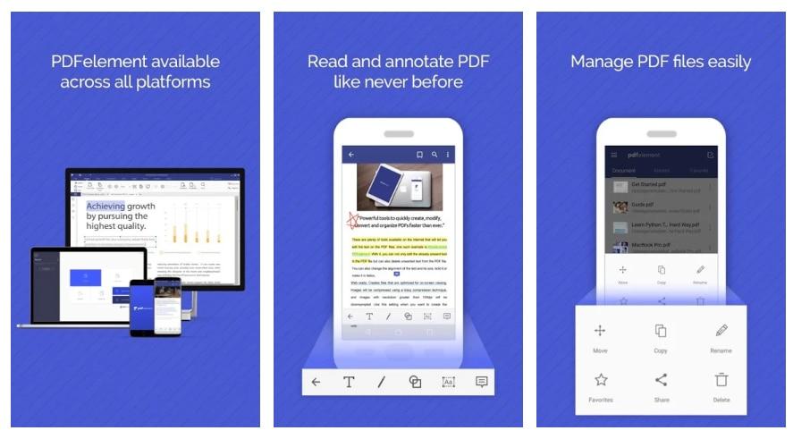pdfelement aplicaciones para subrayar pdf