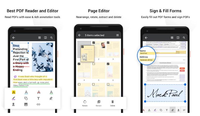 pdf reader pro aplicaciones para subrayar pdf